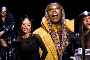 "Erykah Badu, Teyana Taylor, H.E.R., & Brandy Link For ""Ladies First"" Cypher"