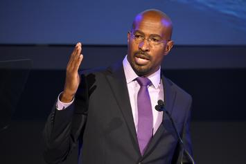 """Van Jones Tearfully Reacts To Trump's Defeat: """"It's Easier To Be A Dad"""""""