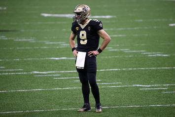 Drew Brees Suffers Collapsed Lung After Hard Hit