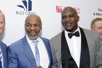 Evander Holyfield Says Fight With Mike Tyson Will Happen In 2021