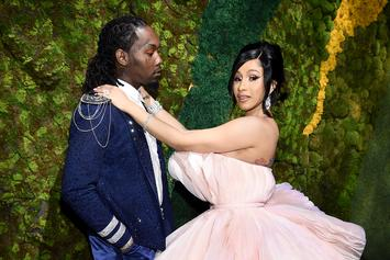 Offset & Cardi B Criticized For Maskless Birthday Party