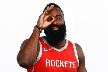 """James Harden Explains Vacations In ATL & Vegas: """"I Was In Training"""""""