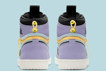 """Air Jordan 1 Switch """"Purple Pulse"""" Revealed: Official Images"""