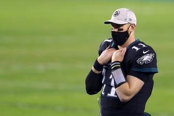 Carson Wentz Reportedly Wants Out Of Philly If Not Named Starter