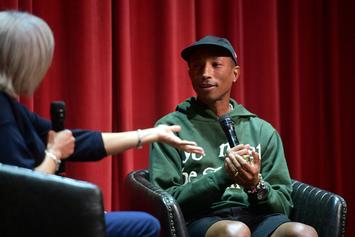"Pharrell Admits He Would Snitch: ""I Am Not Tough"""