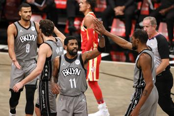 Kyrie Irving Comments On Spencer Dinwiddie's Injury
