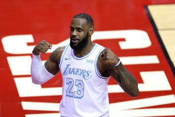 LeBron James Makes Fun Of Himself After James Harden Trade