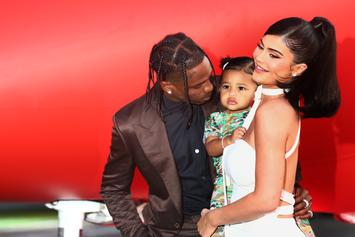 """Kylie Jenner Gushes Over """"Big Girl"""" Stormi While Golfing In Palm Springs"""