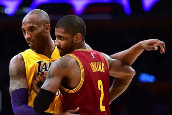 Kyrie Irving Shares What Kobe Bryant NBA Logo Could Look Like