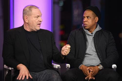 Jay-Z To Buy Harvey Weinstein's Company Share