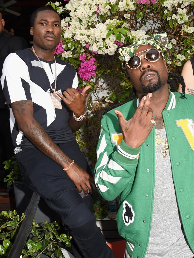 Meek Mill and Wale at TIDAL X Event