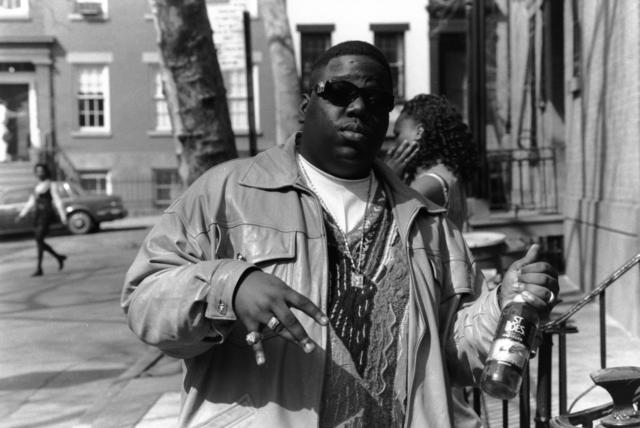 Biggie and a Bottle Of St. Ides