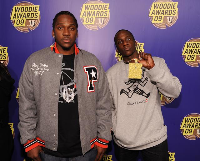 Clipse at the 2009 MTVu woodies