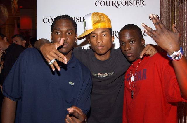 Pusha T, Malice and Pharrell