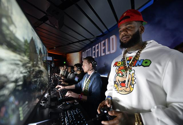 The Game playing video game