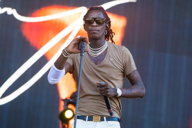 Young Thug at Wireless Fest 2017