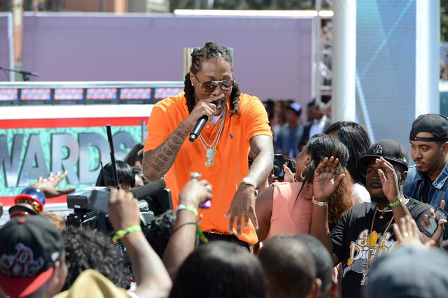 Future performing at 2012 BET Awards