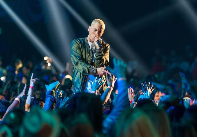 Eminem at the 2014 MTV Awards