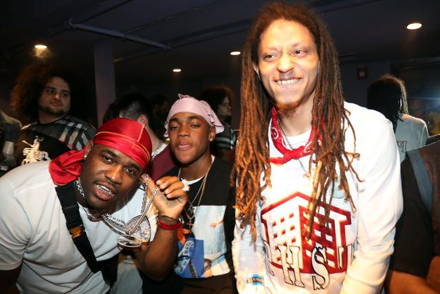 ASAP Illz and ASAP Ferg at ASAP Mob release party