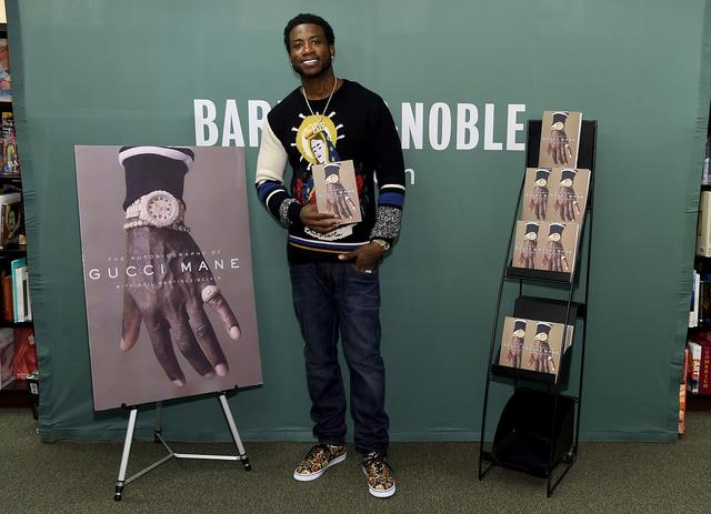 Gucci Mane doing book signings at Barnes & Noble