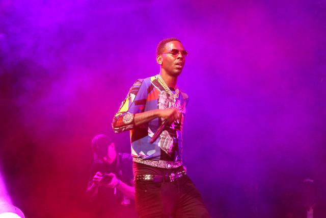 Young Dolph on stage