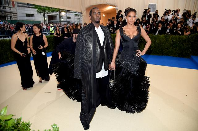 Cassie and Diddy at Met Gala
