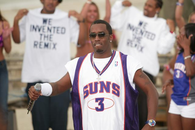 Puff Daddy at MTV Beach House event