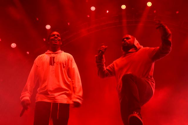 ASAP Rocky & ScHoolboy Q at Camp Flog Gnaw