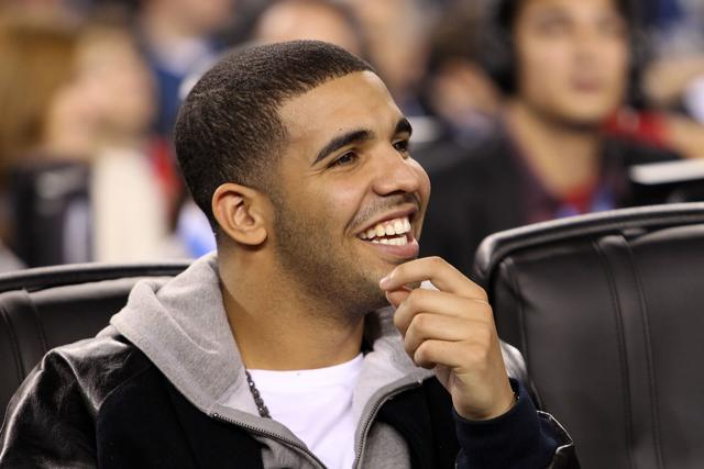 Drake at 2010 NBA All Star Game