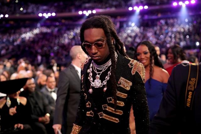Takeoff at the Grammys