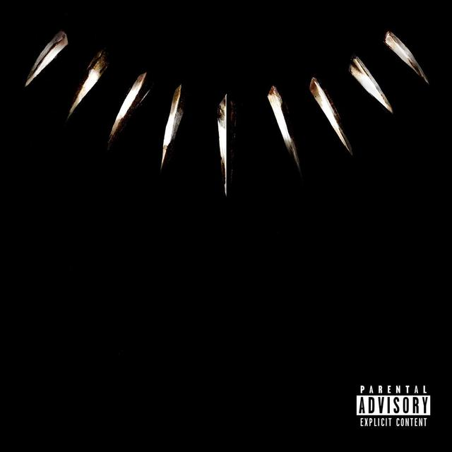 Black Panther: The Album cover art