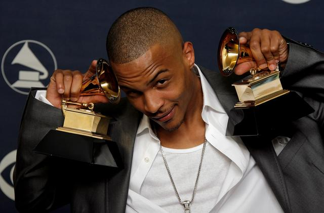T.I. at the 2007 Grammys
