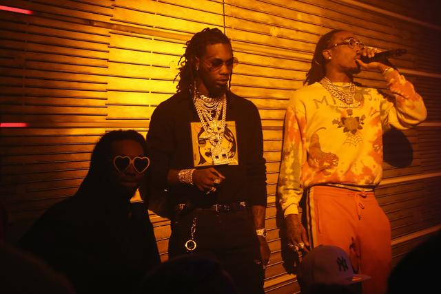 Migos at Remy Martin Presents Beats Party