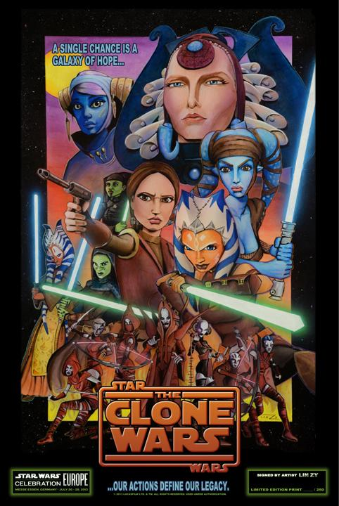 The Clone Wars Poster