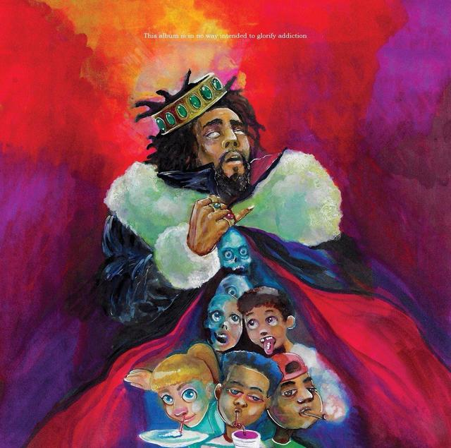 "J. Cole ""1985 (Intro To ""The Fall Off"")"" art"