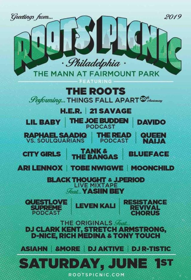 Root's Picnic official flyer
