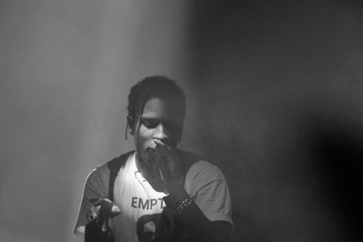 A$AP Rocky performs on New Years Eve.