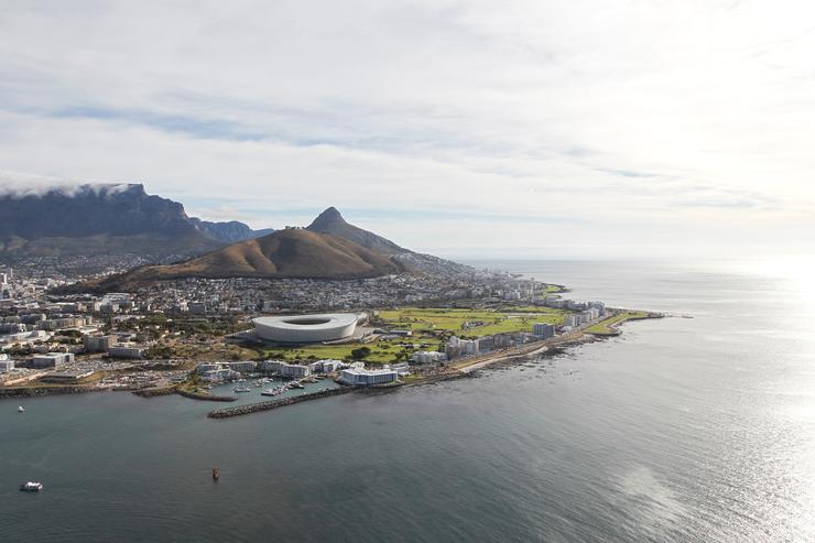 Cape Town, South Africa, where Yasiin Bey was arrested.