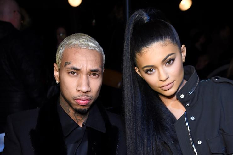 Tyga and Kylie at NYFW