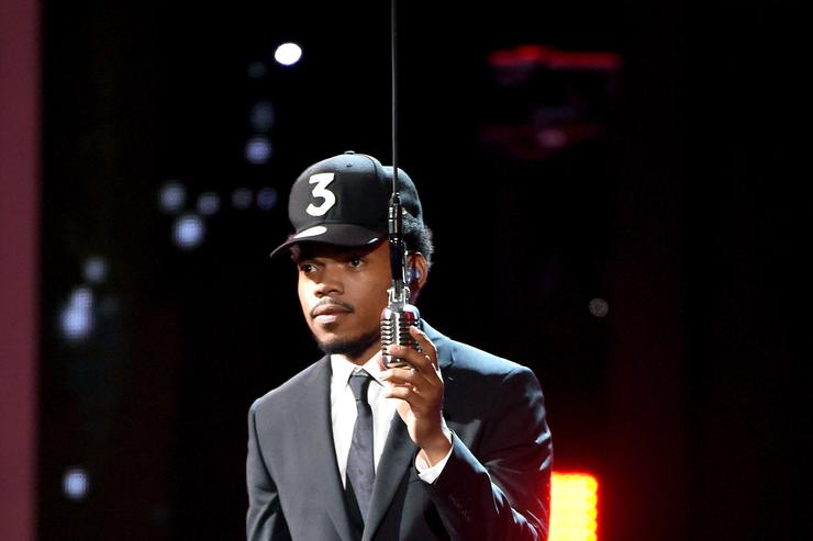 Chance The Rapper at the ESPYs