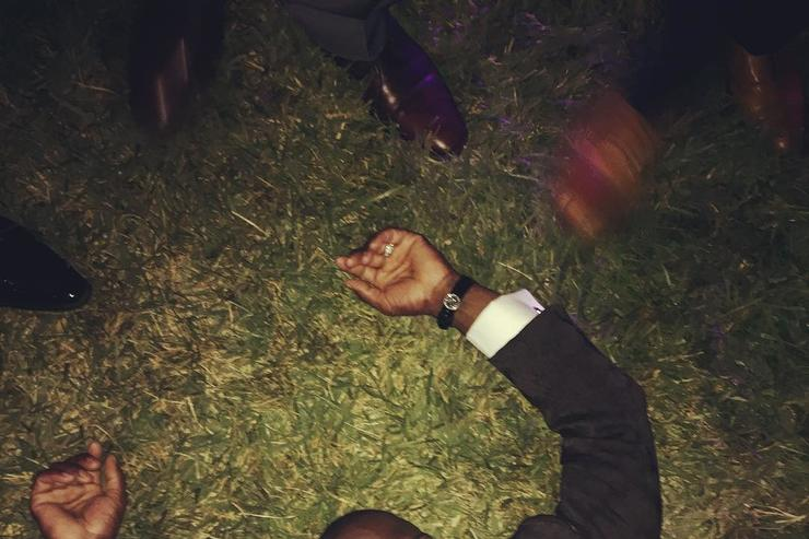 Kevin Hart drunk at his own wedding