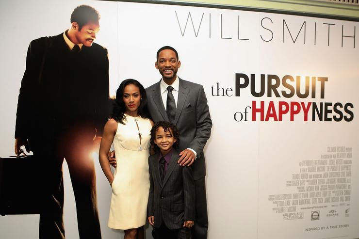 Jaden Smith Will Smith Jada Pinkett Pursuit Happyness