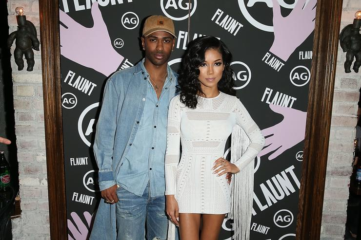 Jhenè Aiko and Big Sean at Flaunt magazine event.