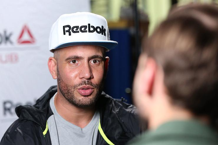 DJ Drama attends the Reebok Seeding Lounge Workout with French Montana, Lita Lewis And DJ Drama at Reebok Lounge on February 11, 2015 in West Hollywood, California.