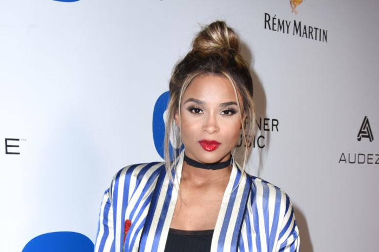 Musician Ciara attends the Warner Music Group GRAMMY Party at Milk Studios on February 12, 2017 in Hollywood, California.