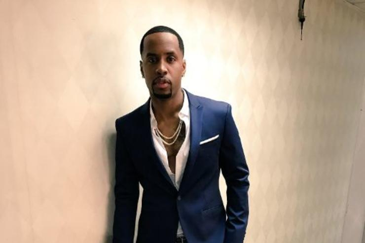 Safaree Samuels backstage at The Wendy Williams Show.