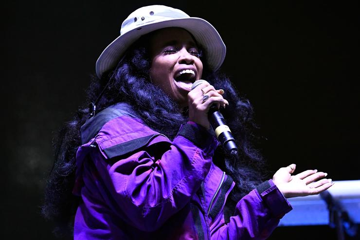 SZA performs at Tyler, the Creator's 5th Annual Camp Flog Gnaw Carnival