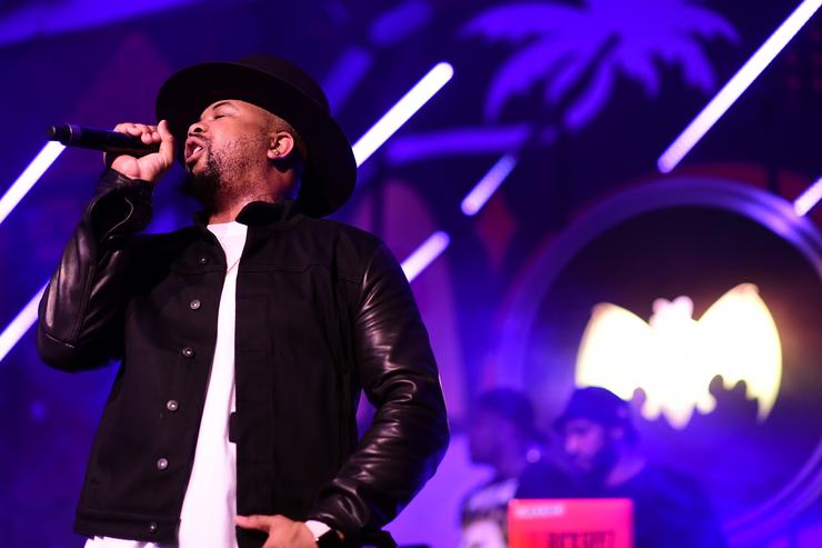The-Dream performs onstage at The Dean Collection X BACARDI Untameable House Party
