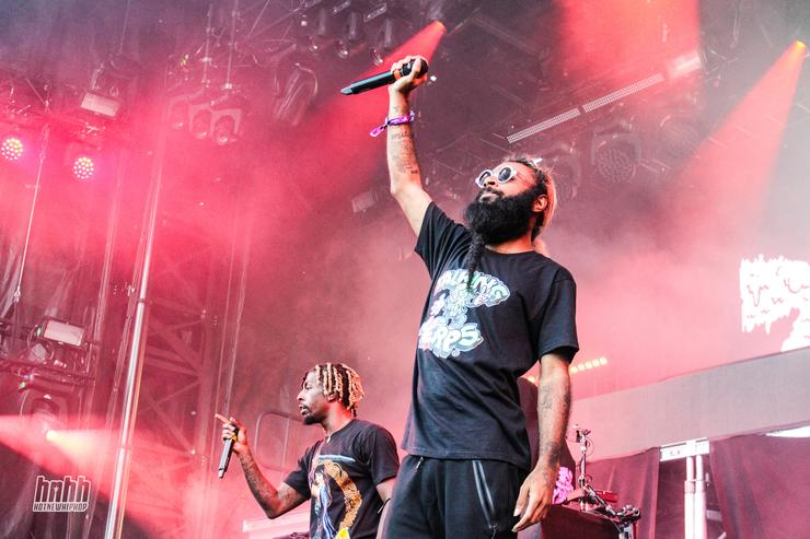 Flatbush Zombies at Osheaga 2017