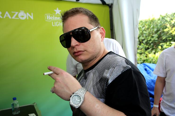 Scott Storchattends SiriusXM's 'UMF Radio' And Tiesto's Club Life Radio at the SiriusXM Music Lounge at W South Beach on March 26, 2014 in Miami Beach, Florida